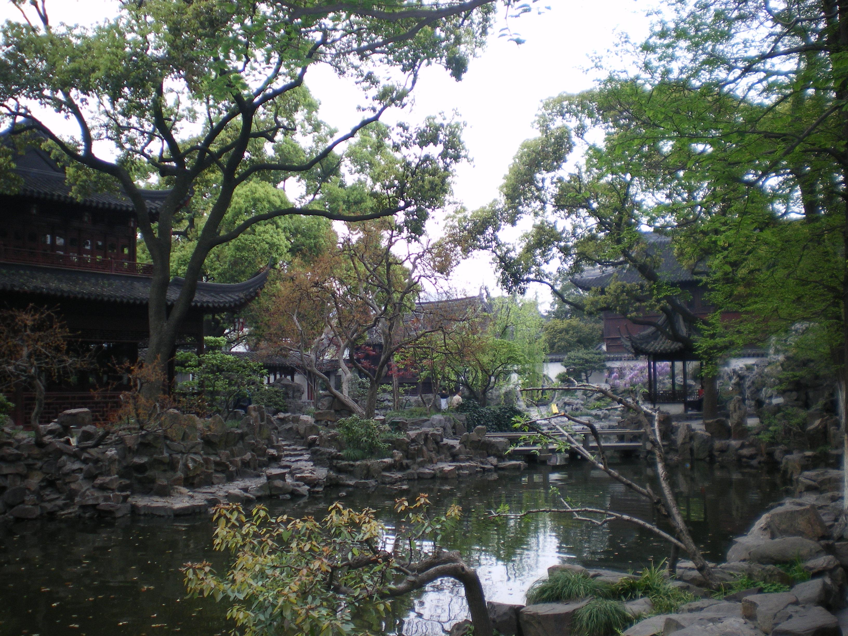 Le parc Bellagio, la partie chinoise.