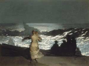 summer night Winslow Homer